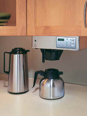 Coffee Maker Built In Filter : EverBrew Built-in Coffee Makers from Universal Water